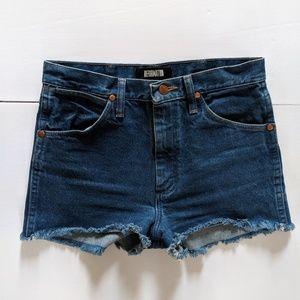 Vintage Wrangler Reformation Denim Shorts